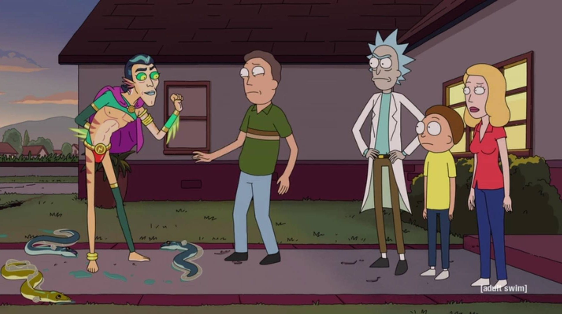 Recap For Rick And Morty S05E01