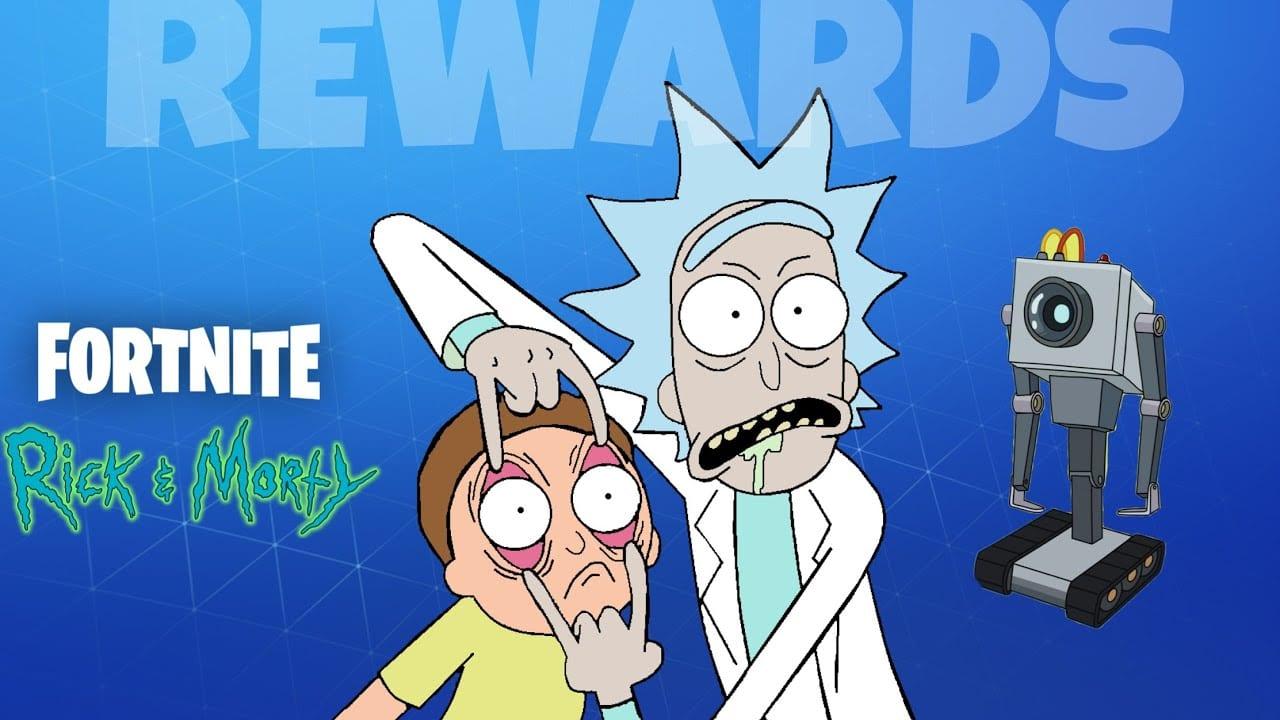 Rick And Morty Butter Robot In Fortnite – New Fortnite Season 7 Update