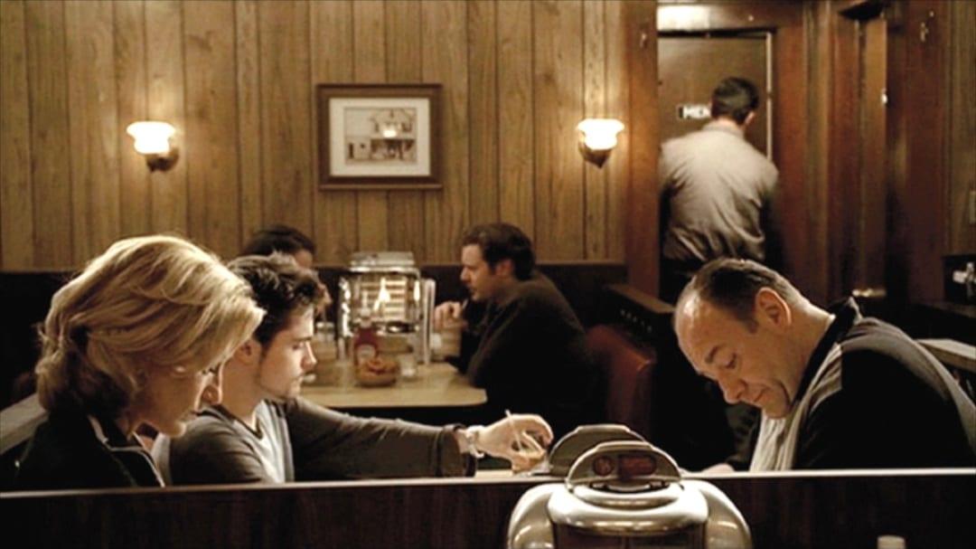The Sopranos ending scene