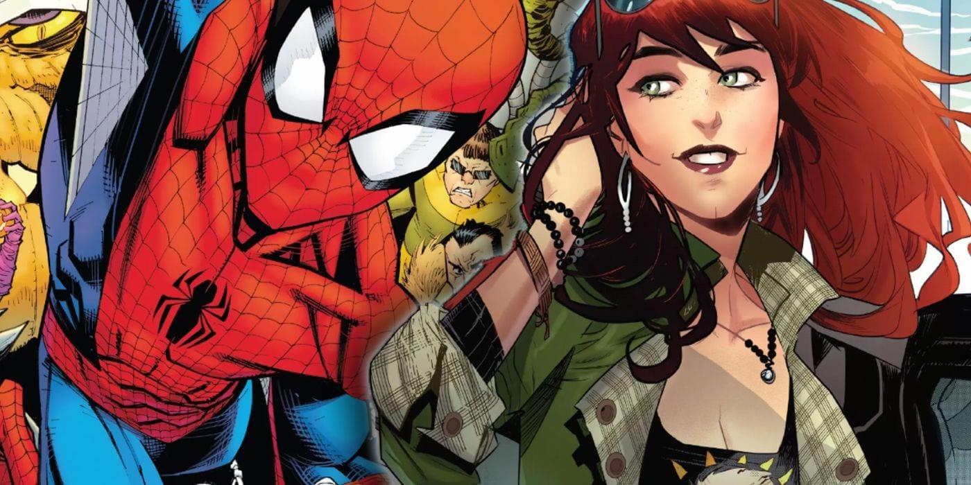 Spider-Man's girlfriend name