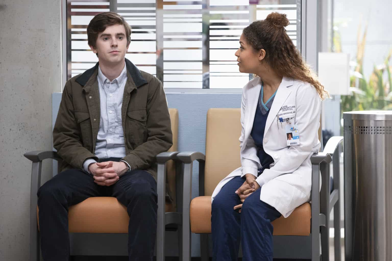 Antonia Thomas is leaving the good Doctor