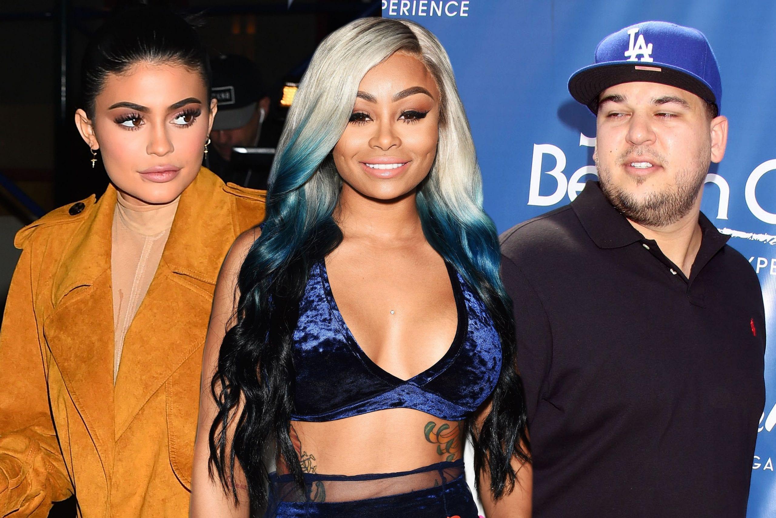 Blac Chyna and the Kardashians