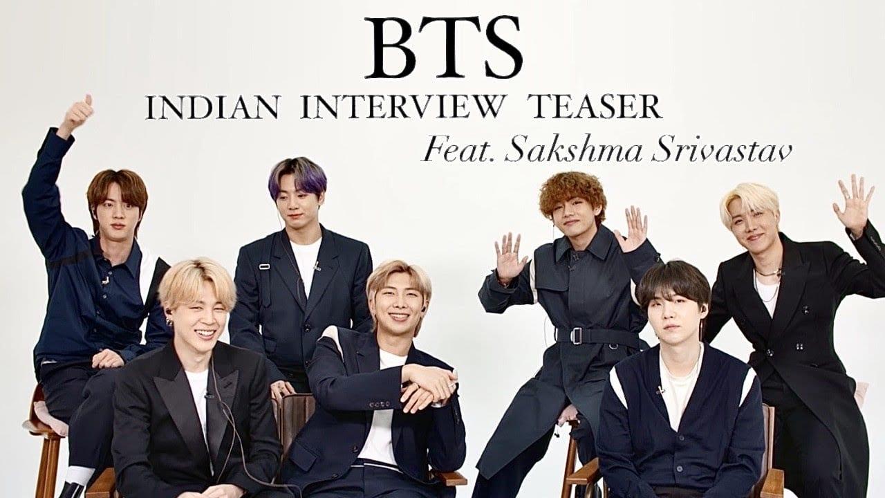 BTS india interview 1