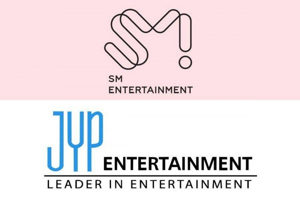DearU Bubble Sm and JYP Entertainment