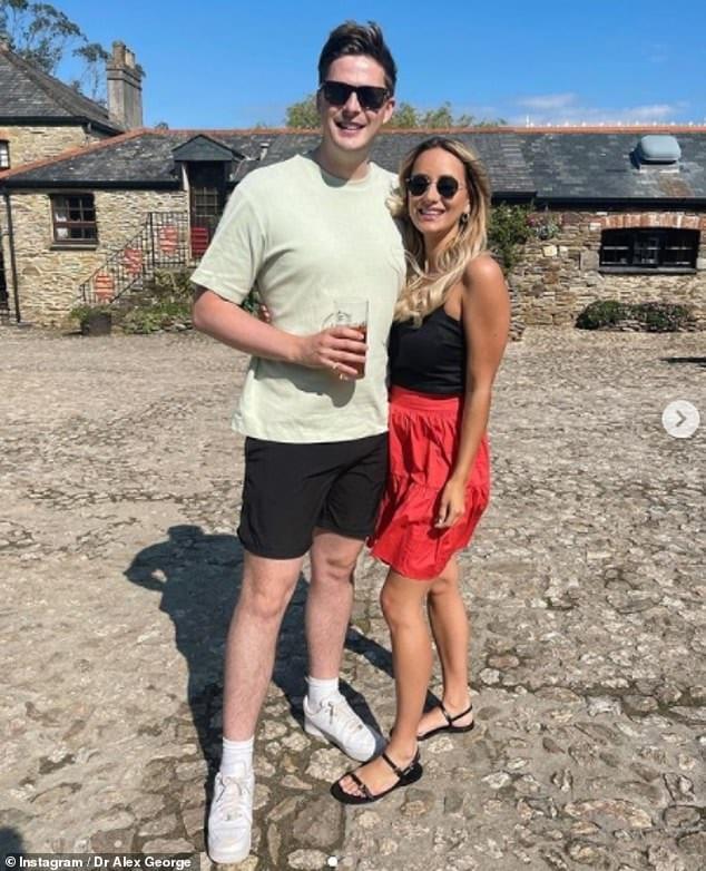 Alex George dating
