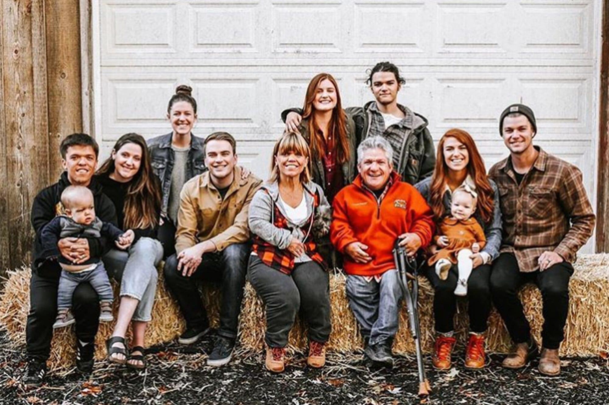 Matt and Amy Roloff family