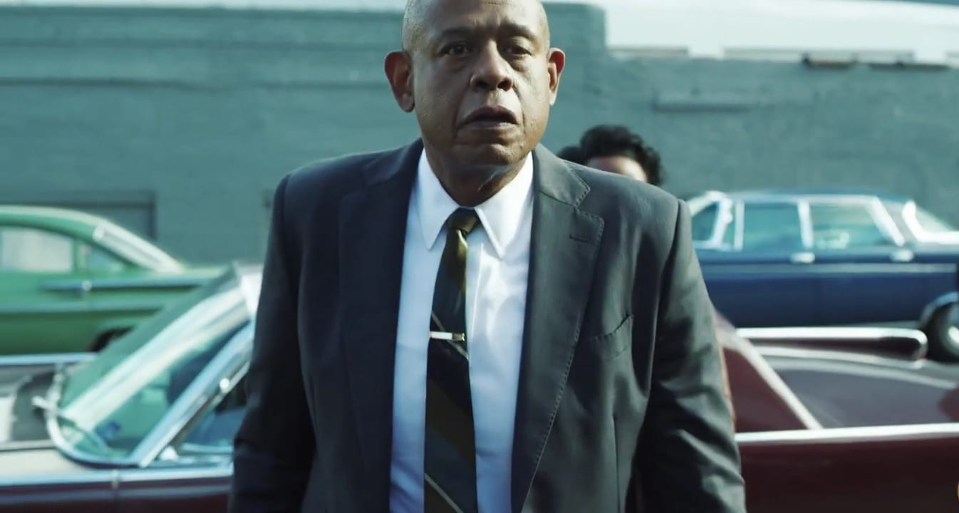 Forest Whitaker as Bumpy Johnson.