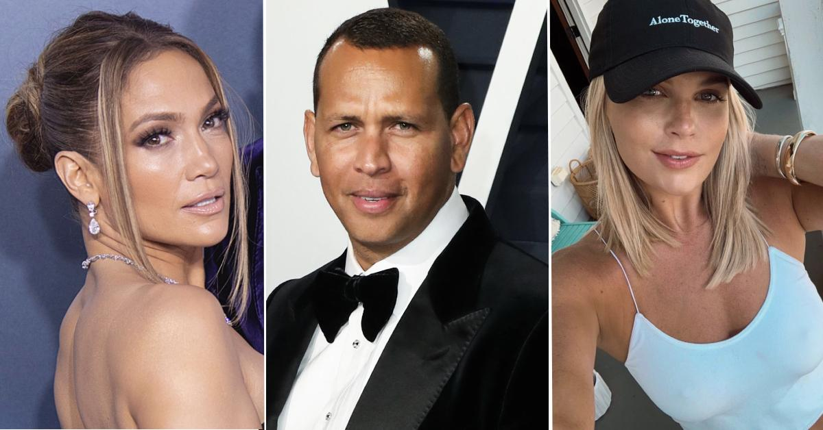 Did J-Lo broke with A-ROD for cheating?