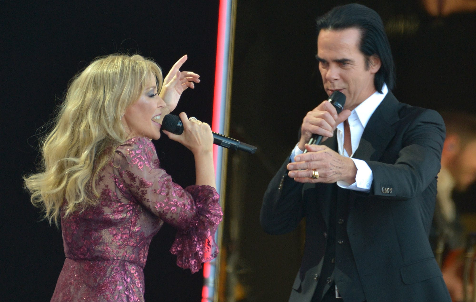 Kylie Minogue and Nick Cave Relationship