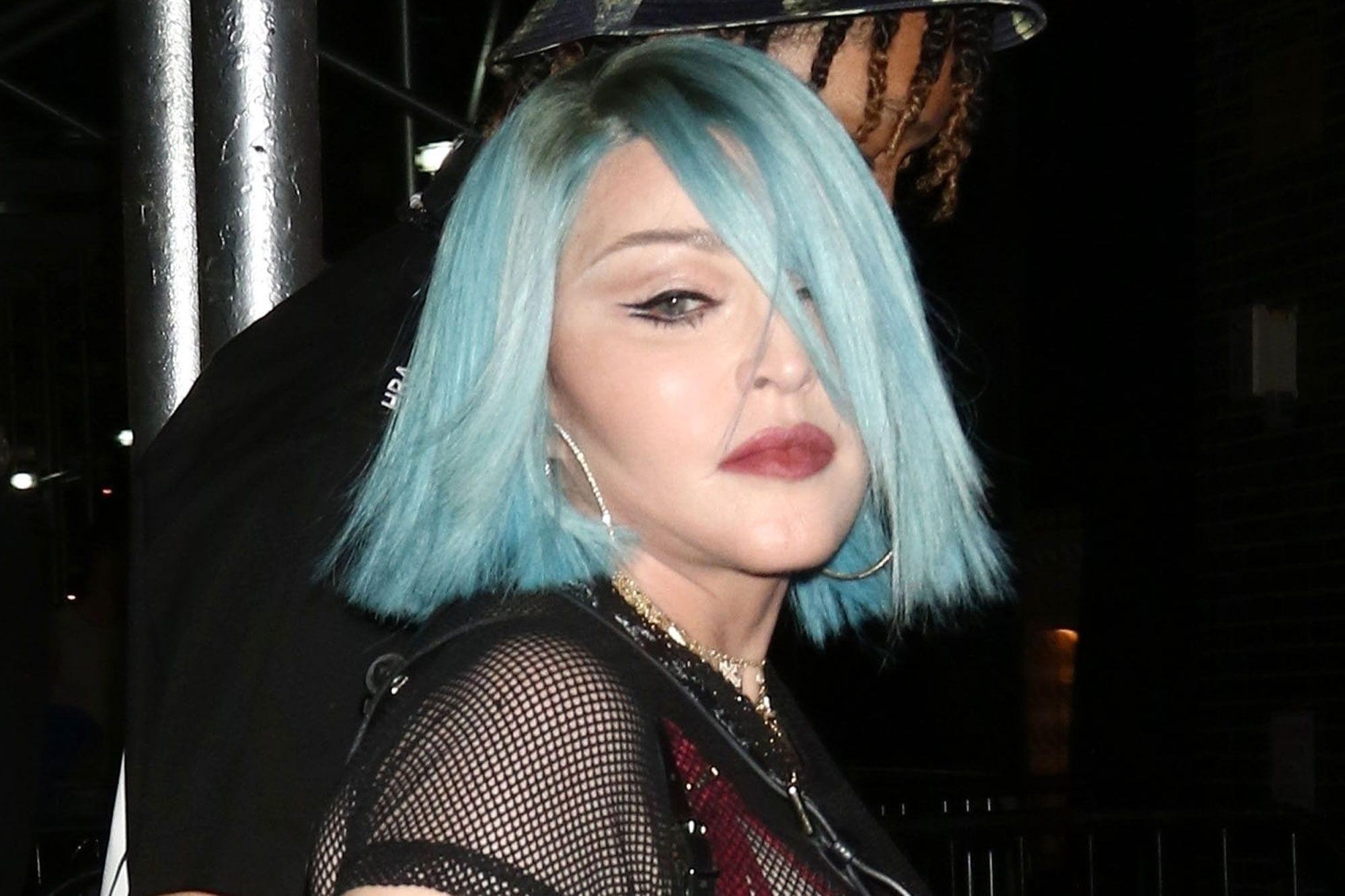 Madonna's Boom Boom Room Nyc Performance