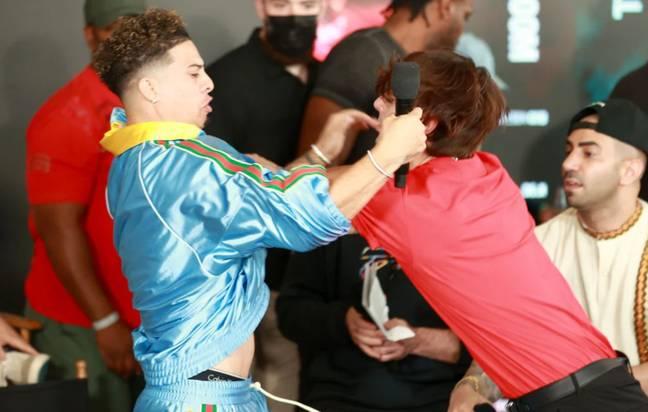 Bryce and Austin brawl