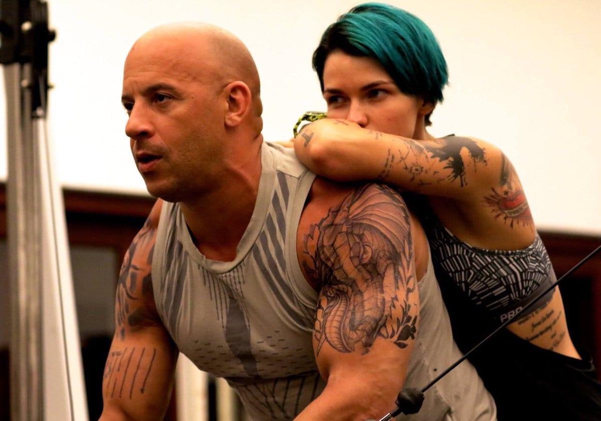 What is the bond between Vin Diesel and Ruby Rose?