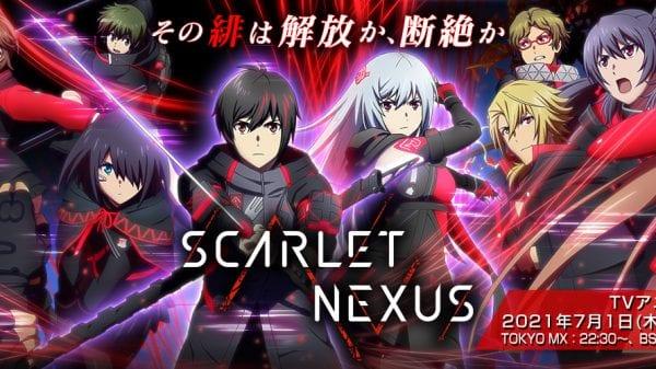 scarlet Nexus anime new PV