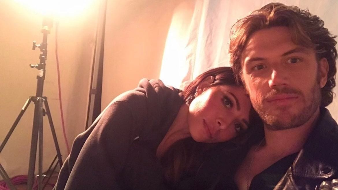 Sarah Shahi and Adam Demos Are In A Relationship