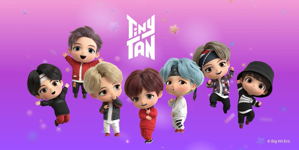 what is TinyTan instagram theme