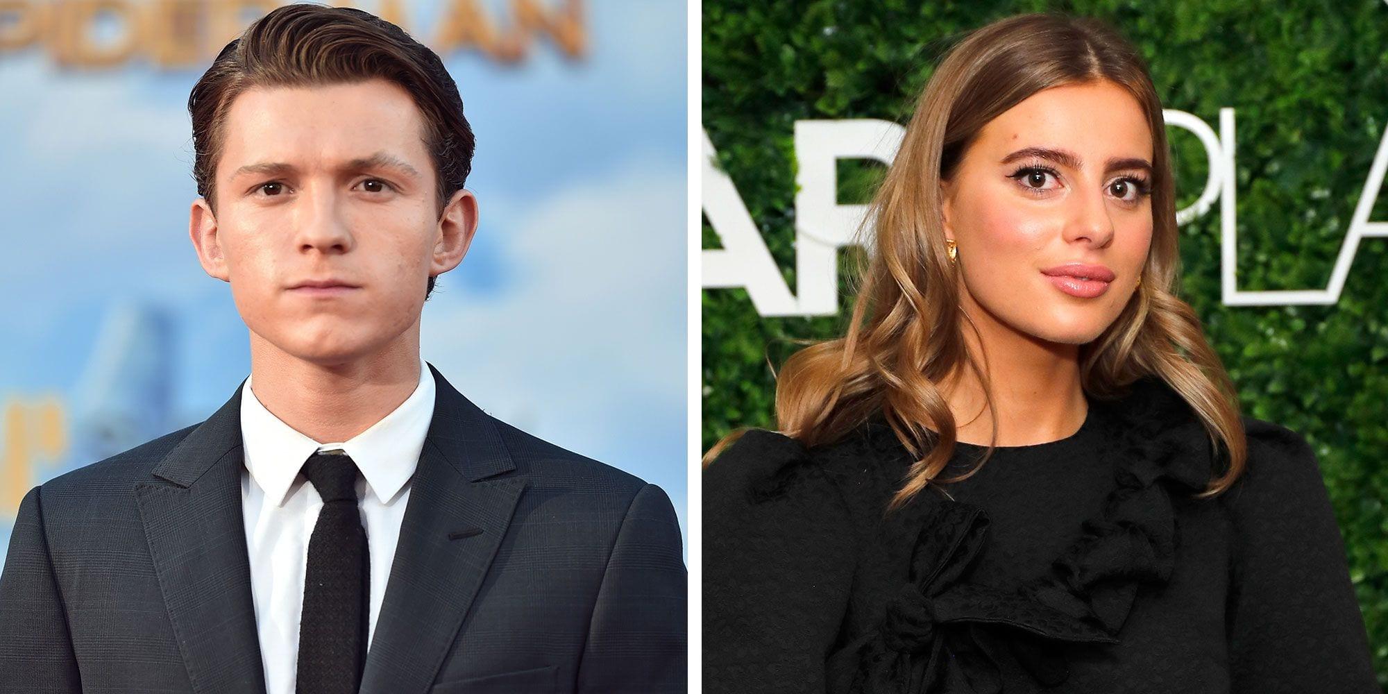 Nadia Parkes in a relationship with Tom Holland