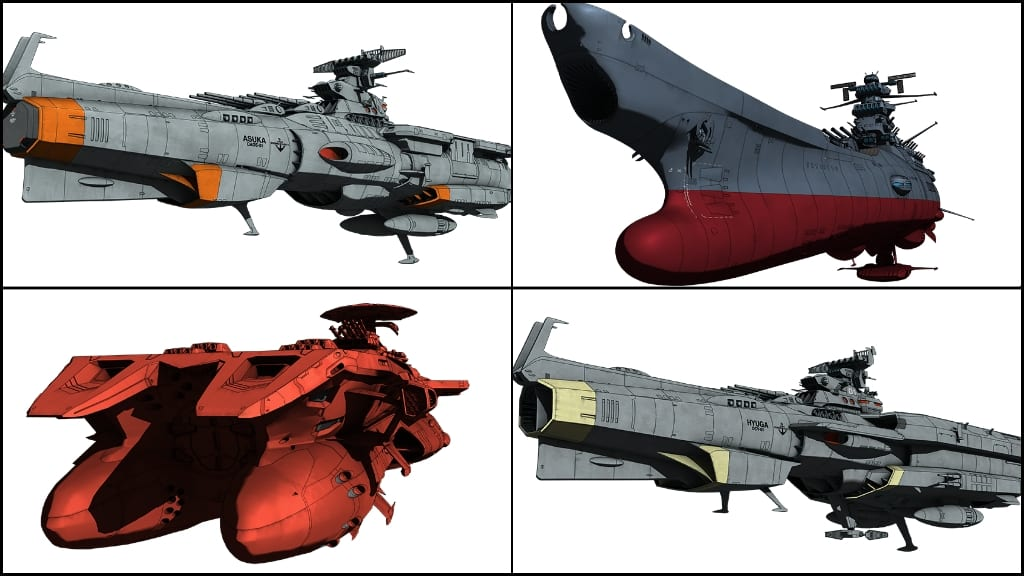 Different Mechanics in Yamato 2205: