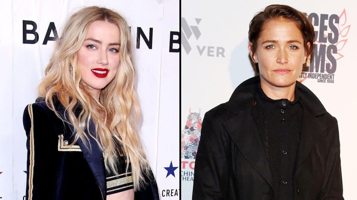 History amber heard dating Who is