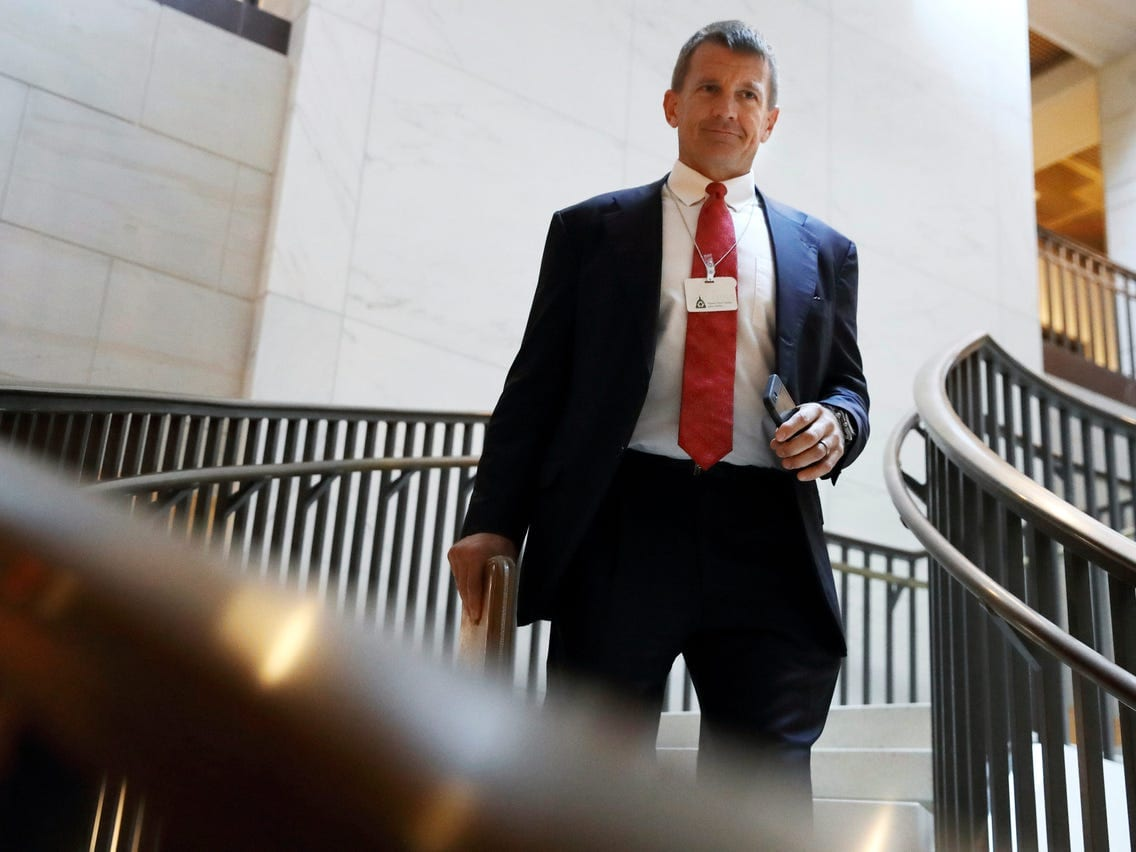 Erik Prince Net Worth How Much Did He Earn from Blackwater ...
