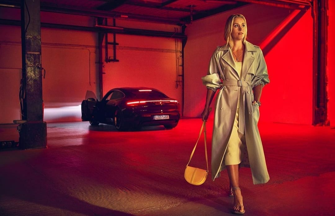 Angelique Kerber advertisement