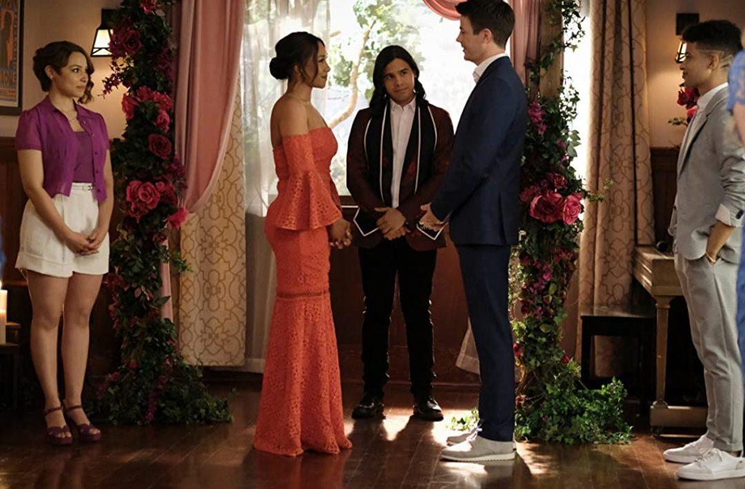 Barry and Iris wedding