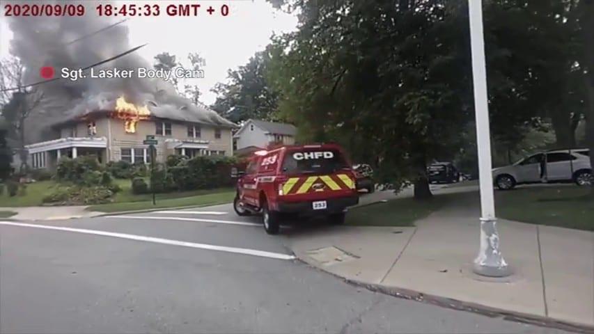A Fire Breakout In Cleveland In Body Cam S04E03