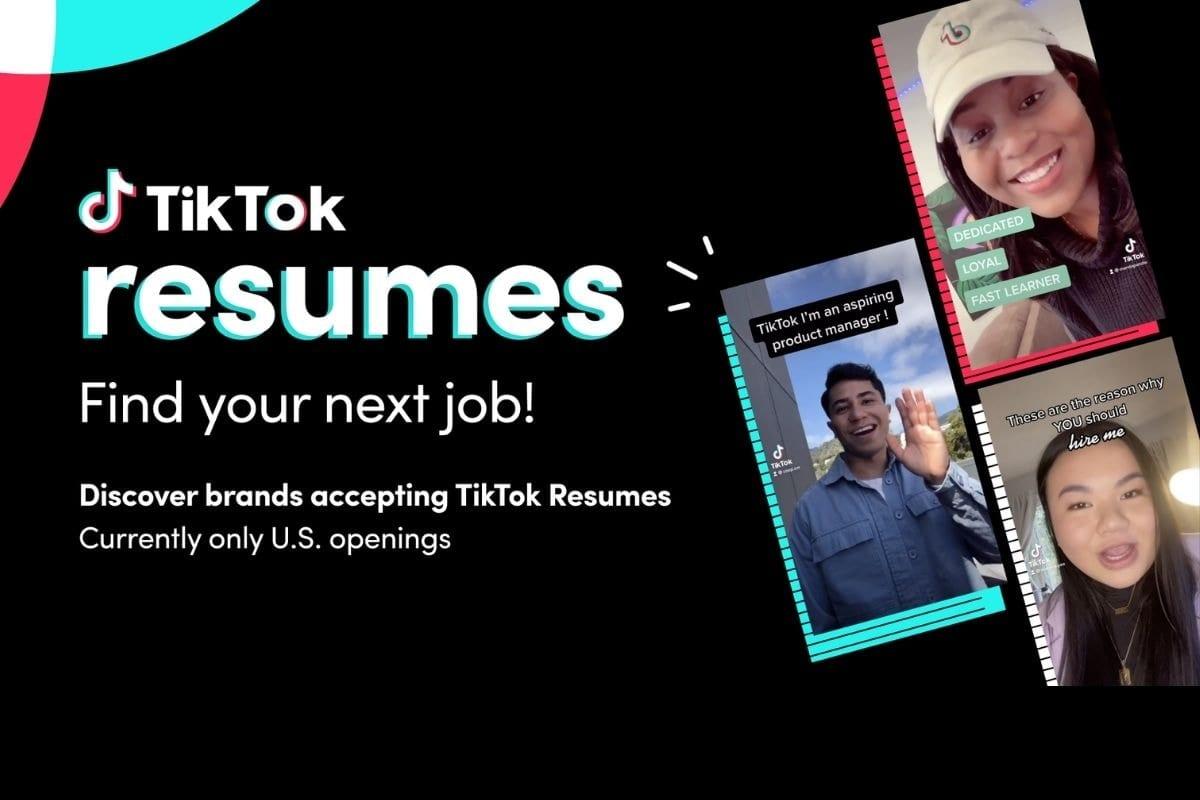 What Is TikTok Resumes