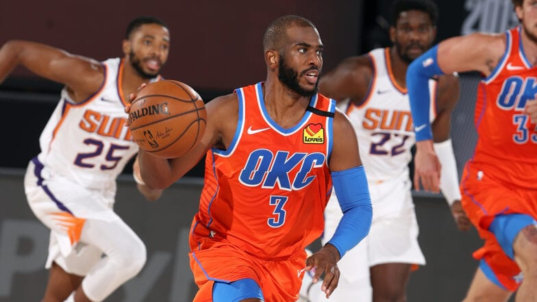 Who does Chris Paul play for