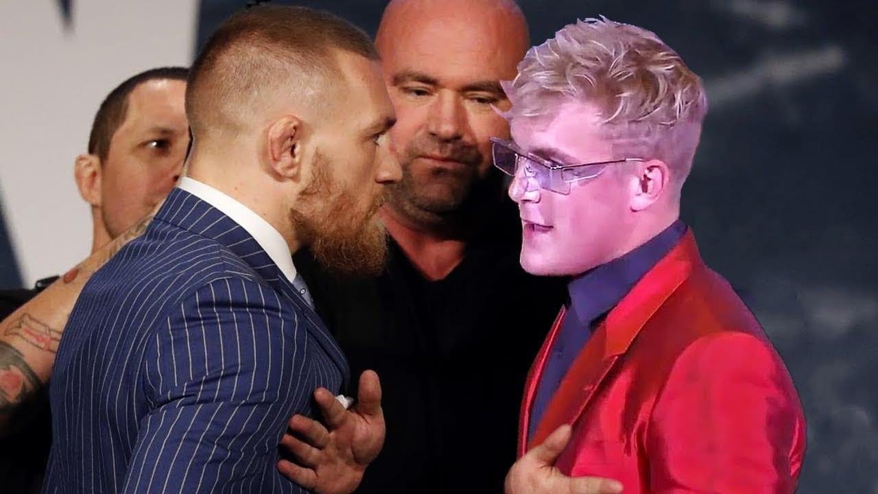 Conor McGregor Fight Jake Paul
