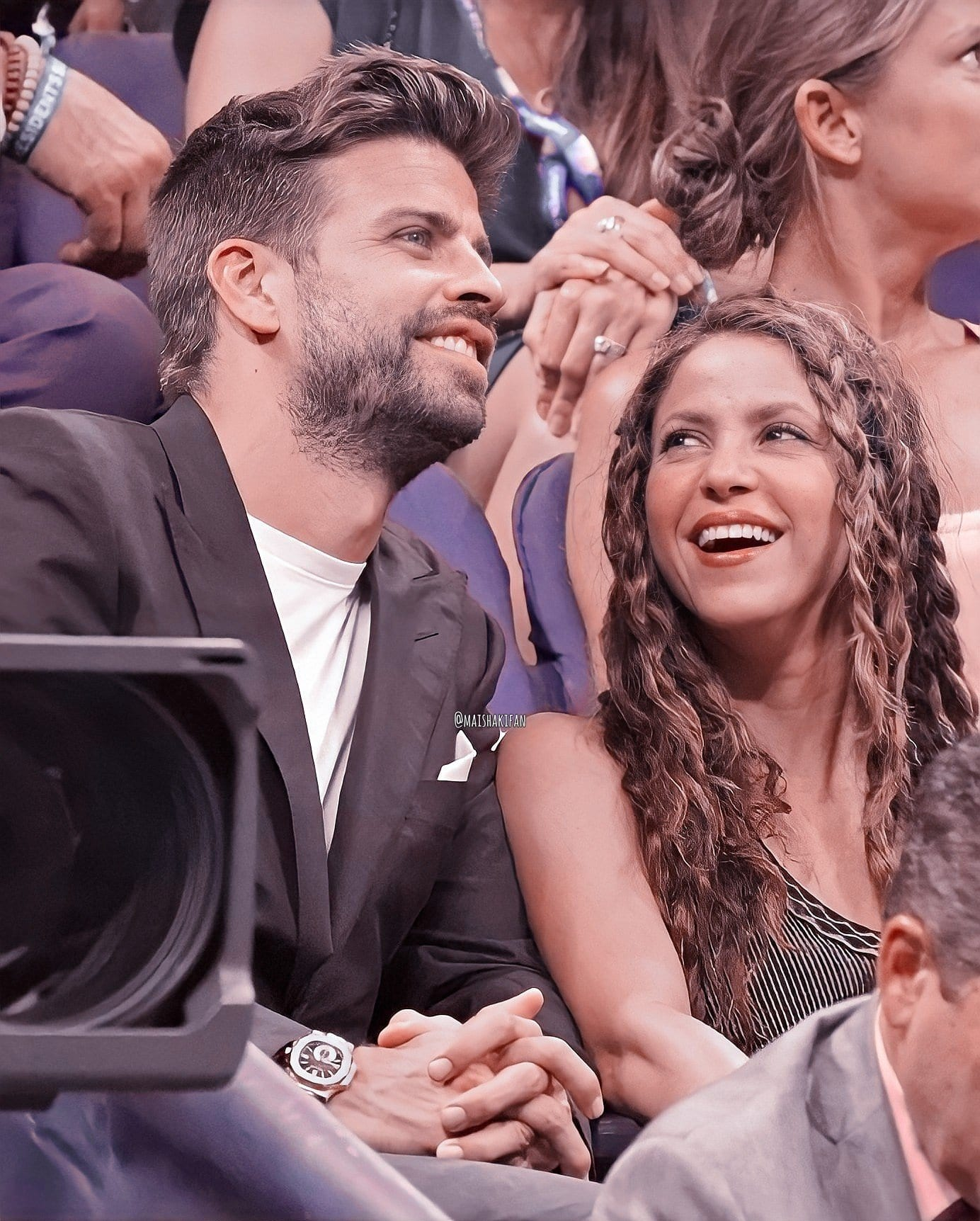 Shakira and George Pique.