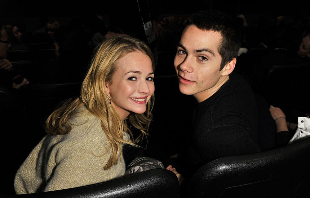 Britt Robetson Dated Dylan O'Brien from 2012 to 2018