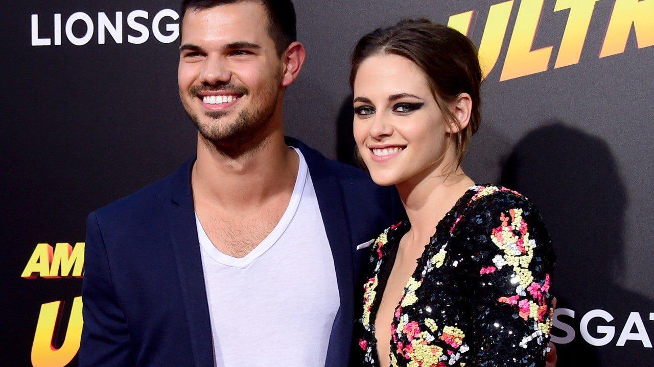 Taylor Lautner Reunited With Co- Star Kristen Stewart