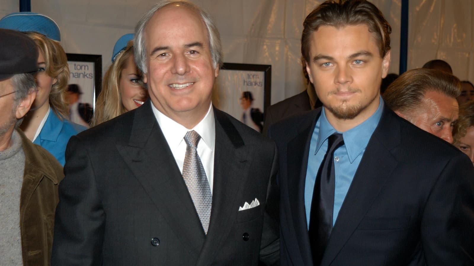 Frank and Leonardo Di Caprio