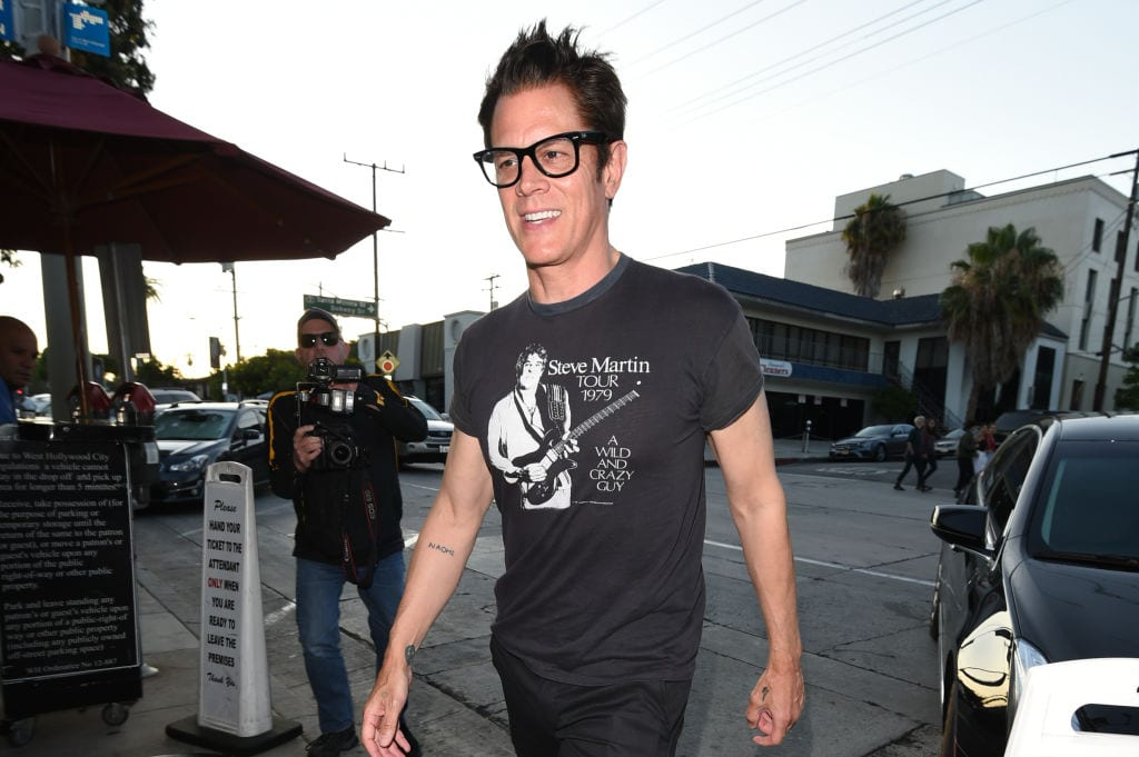 Johnny Knoxville in Los Angeles, California