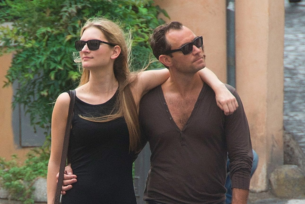 Phillipa Coan and Jude Law Dating And Marriage