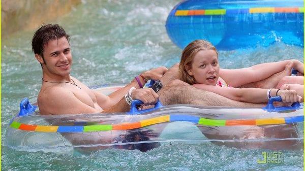 Kris Allen with his wife Katy Allen