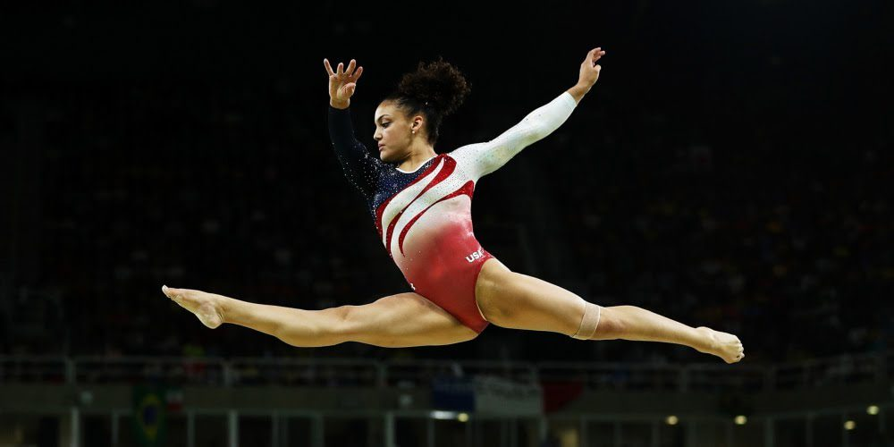 Who is Laurie Hernandez dating?