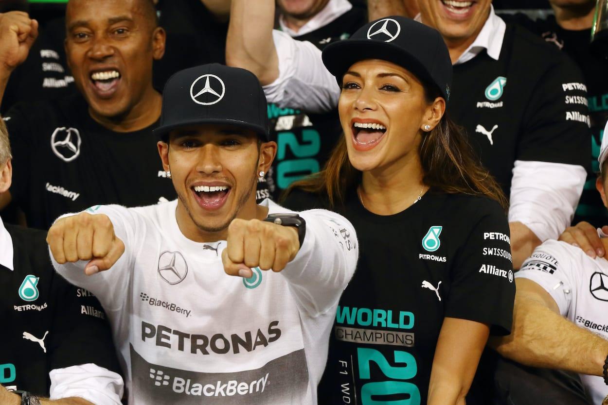 Lewis Hamilton dating