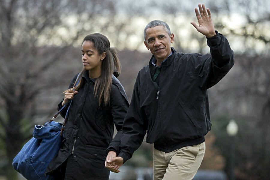 Malia Obama dating life
