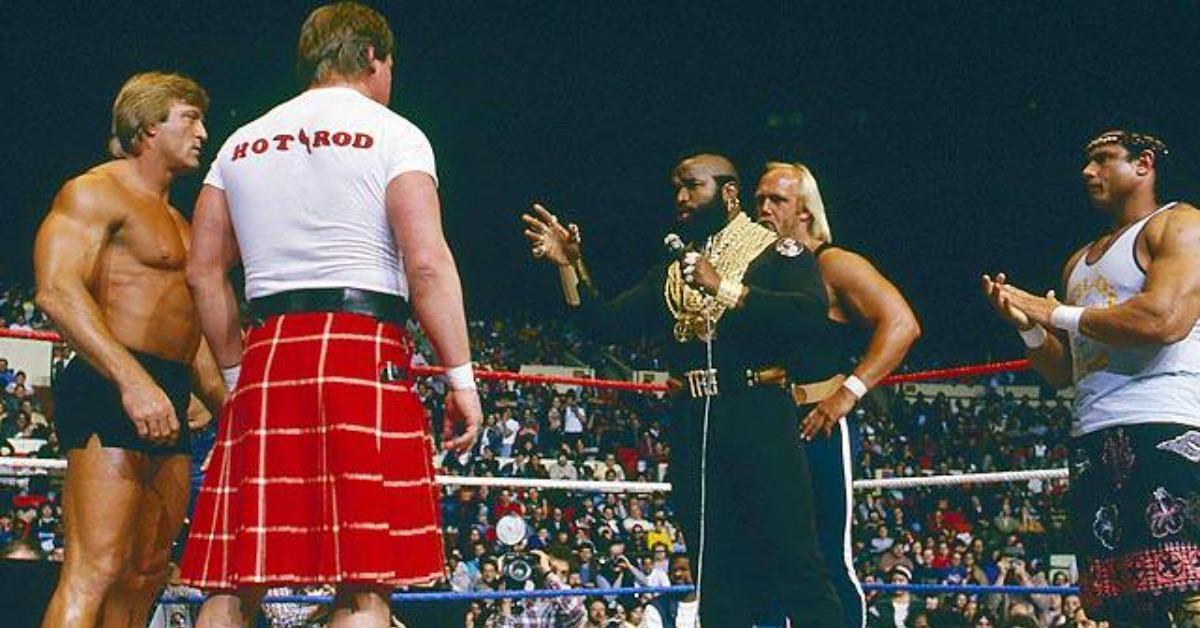 Paul Orndorff, Hulk Hogan and Mr. T fight