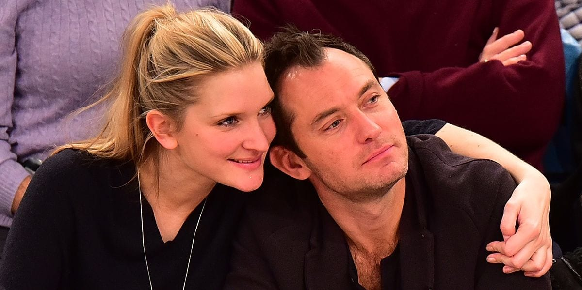 Phillipa Coan was dating Jude Law and is now married to him
