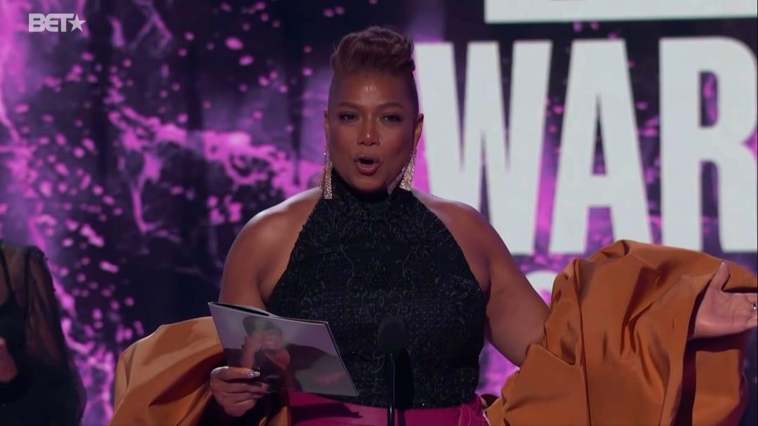 Queen Latifah BET Award
