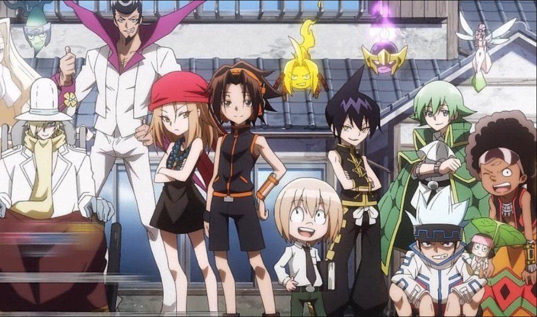 Shaman King 2021 Anime