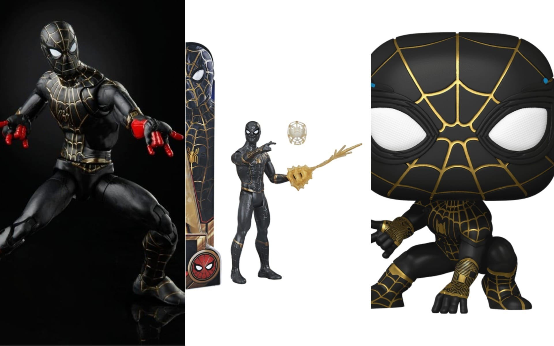 The New Black And Gold Suit In Spider-man No Way Home