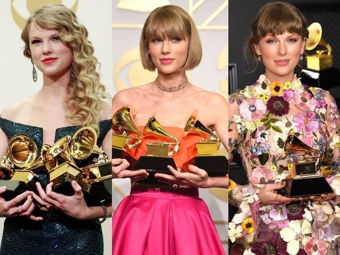 Taylor Swift at Grammys