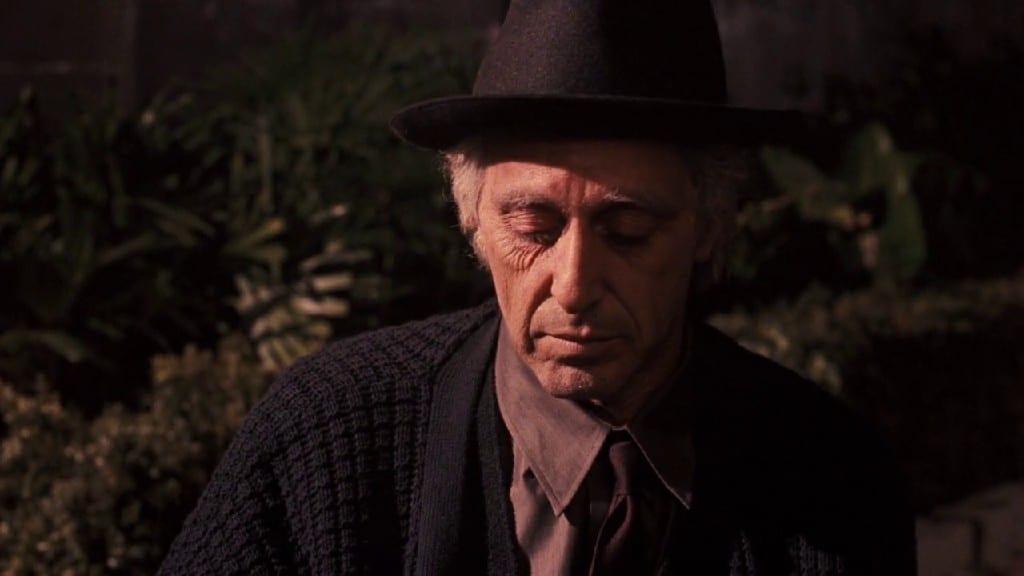 The Guilt Trip Of Michael Ends His Story In The Godfather Part III