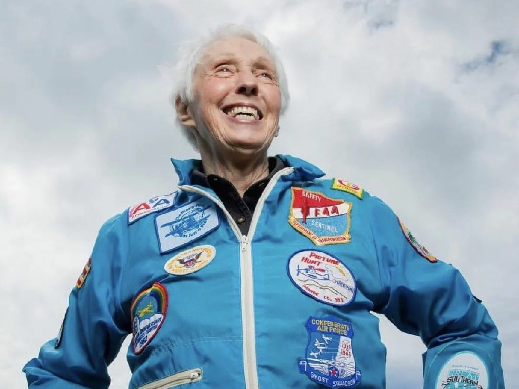 Wally Funk Joining Jeff Bezos Into Space