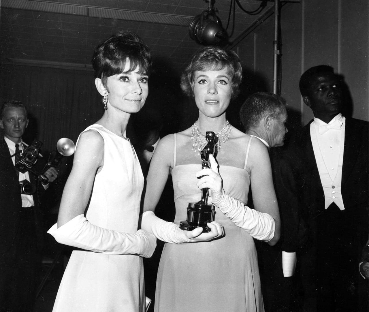 Julie with Audrey Hepburn