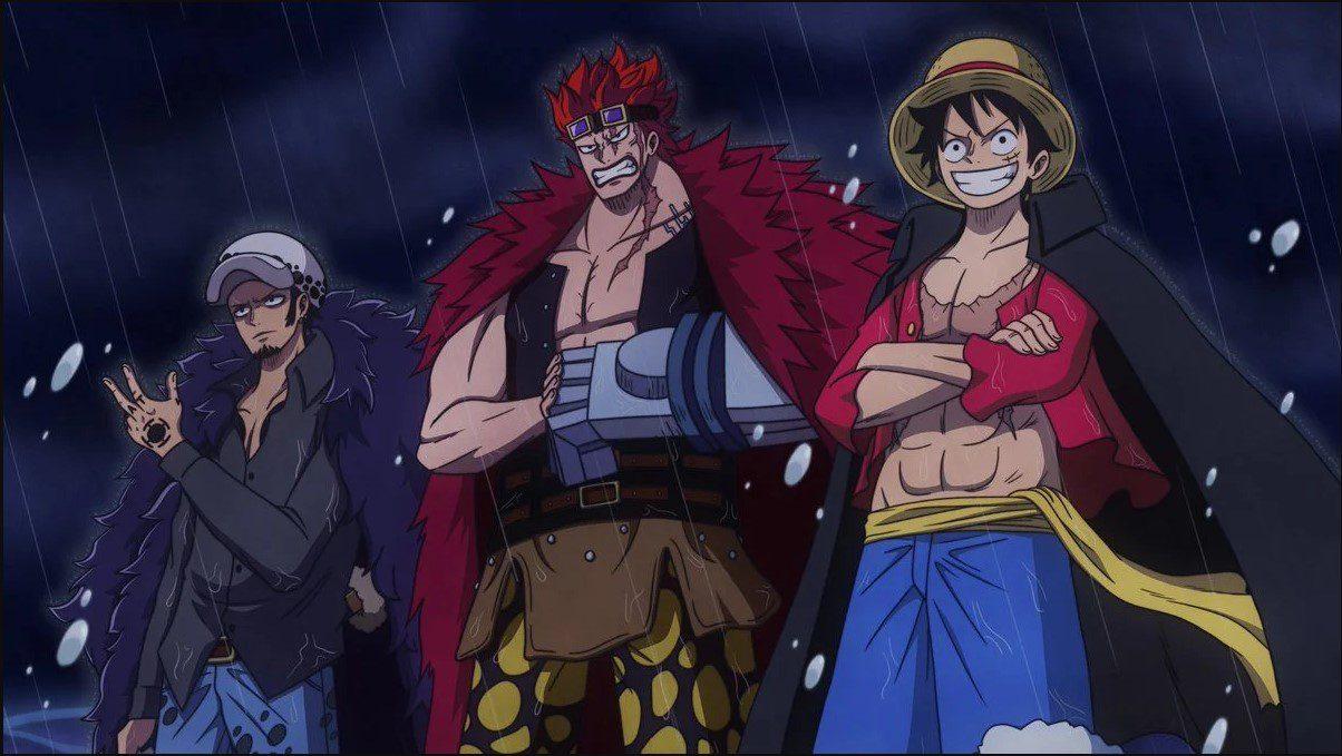 Worst Generation One Piece Anime