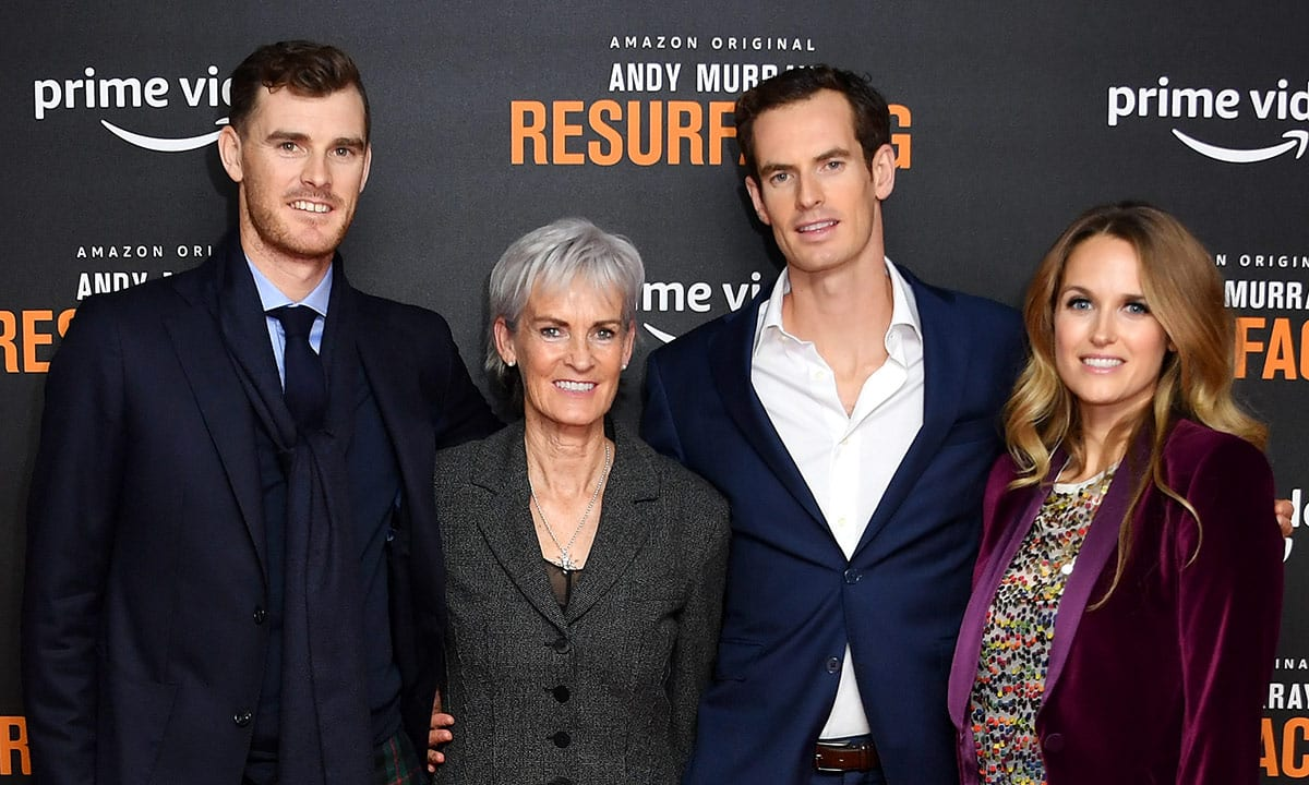 Andy Murray Family